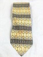 Paolo Gucci Yellow Gold Black Blue Stirup Design