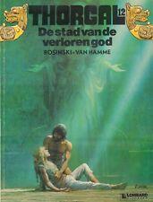 THORGAL 12 - DE STAD VAN DE VERLOREN GOD - Rosinski - van Hamme