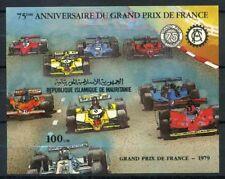 Mauritania 1982 Mi. Bl.34 Foglietto 100% Gran Premio di Francia ** nel 1979