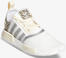 NEW ADIDAS ORIGINALS NMD R1 LEOPARD WOMEN ANIMAL PRINT SNEAKERS WHITE all sizes