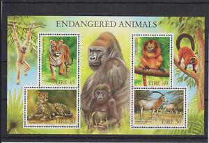 UMM MNH STAMP SHEET 1998 IRELAND EIRE ENDANGERED ANIMALS SG MS1205