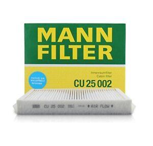 For Mercedes W205 A205 C205 S205 X166 X253 C292 Cabin Air Filter Mann CU25002