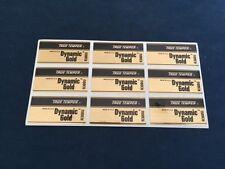 9 True Temper Dynamic Gold R300 Golf Club Shaft Band Labels