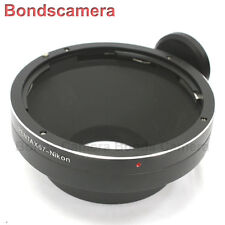 Pentax 67 6x7 P67 Lens to Nikon F mount Camera adapter for D4 D800 D610 D7100 DF