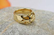 Ring 750 18 kt. Gold Gelbgold Brillant 0,04 Jette Joop zeitlos