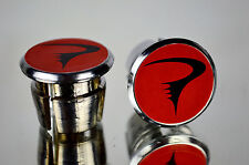 new Pinarello red Handlebar End Plugs plug Bar Caps vintage bouchons calotte