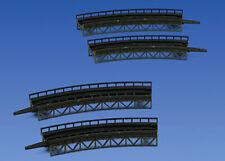 More details for faller 282905 curved track beds (4) kit i