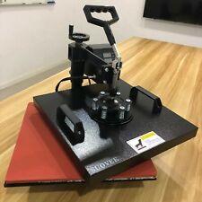 Suovee 15x15 Combo T Shirt Heat Press Transfer Machine 5in1 Sublimation Swing