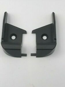 Caravan / Motorhome - Polyplastic - Black Hinge Bar End Caps - 9008310000