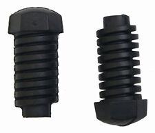 1997-2013 GM Pair(2) Hood & Trunk Bump Stop Rubber Bumper Black New OEM 10279121