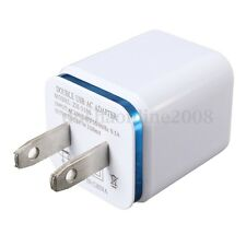 Universal 2.1A/1A Dual USB Travel HomeAC Power  Wall Adapter For Cell phone MP3