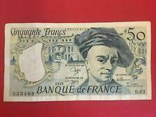 France French 50 Francs  1981