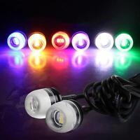 2,10x  LED Eagle Eye Light Car Motor DRL Front Tail Backup Park Signal Lamps