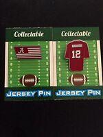 Alabama Crimson Tide lapel pin set-/Joe Namath/Flag Collectables-ROLL-TIDE Gift