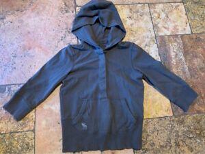 Size Large  Kids Abercrombie Grey Hooded Sweatshirt Top