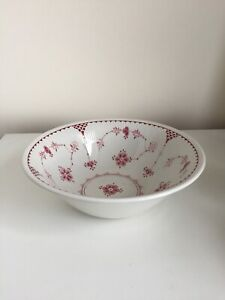 Furnivals PInk Red Denmark Serving Large Bowl