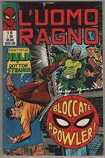 L' UOMO RAGNO corno N.80 BLOCCATE PROWLER ! 1973 dottor dr. strange the hulk