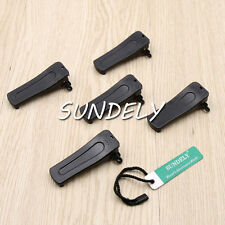 5X Belt Clip For BAOFENG Radios H777 BF-666S BF-777S BF-888S BF-999S US SELLER