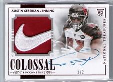 #2/2 ONLY 2) 2014 NATIONAL TREASURES AUTO NIKE SWOOSH AUSTIN SEFERIAN-JENKINS RC