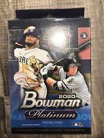 2020 Bowman Platinum Baseball Factory Sealed 24 Card Hanger Box! Luis Robert?