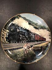 New listing Homeward Bound Train Collector Plate