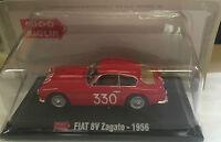 "DIE CAST 1000 MIGLIA "" FIAT 8V ZAGATO - 1956 "" + BOX 2 SCALA 1/43"