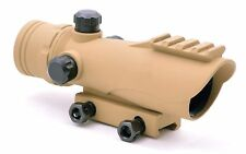 TMS CQB Polymer Reflex Red Dot Scope Sight RDA30 TAN Picatinny Weaver Mount