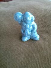 Red Rose Tea Wade figurine blue circus clown