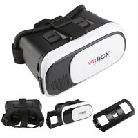 Virtual Reality 3D VR Glasses Headset Box Helmet for iPhone Ios Android