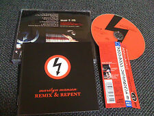 marilyn manson / remix & repent /JAPAN LTD CD OBI