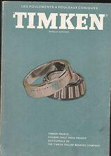 TIMKEN Le livre de l'ingénieur - Roulements à Rouleaux Coniques