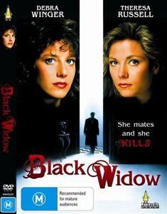 Black Widow DVD Debra Winger 1987 - Theresa Russell - RARE MOVIE - AUS REGION 4