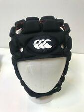 New Canterbury Ventilator Headgear Rugby Scrum Cap Size Small Black $90