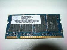 Barrette mémoire NANYA 512 MO SO-DIMM DDR PC2700S