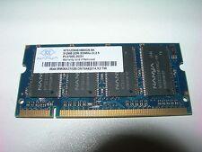 Barrette mémoire NANYA 512 MO SO-DIMM DDR PC2700S