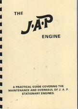 JAP Industrial motores estacionarios guía práctica para la revisión de mantenimiento