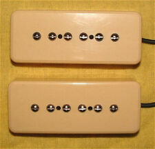 Guitar Parts GUITARHEADS PICKUPS - P90 SOAPBAR - Set of 2 - CREAM IVORY