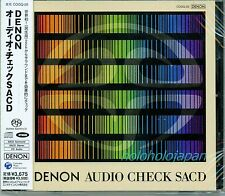 Audio check SACD DENON Hybrid surround speaker setting tuning from JAPAN New