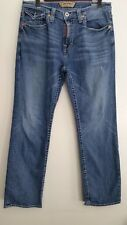 Big Star Jeans 32 Pioneer Straight Leg Relaxed Cotton Blend Med Wash Mens