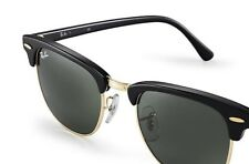 Gafas Ray-Ban Clubmaster RB3016 W0365 49mm Black Original nuevas