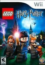 LEGO HARRY POTTER YEARS 1-4 Nintendo Wii Game