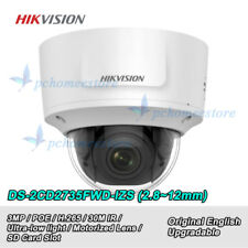 Hikvision DS-2CD2735FWD-IZS 3MP H.265 Vari-focal Ultra-Low Light WDR Dome Camera