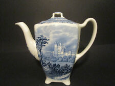 Johnson Bros Old British Castles Blau, Kaffeekanne, 18 cm Höhe
