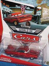 DISNEY WORLD OF CARS HYDRAULIC RAMONE RADIATOR SPRINGS RED **BRAND NEW & RARE**