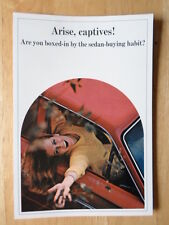 DODGE CONVERTIBLES orig 1966 USA Mkt Brochure Polara 500 Coronet 440 Dart GT 270