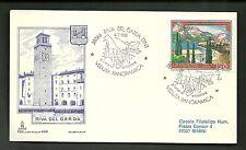 ITALIA BUSTA Capitolium  TURISTICA 1981 RIVA DEL GARDA  ANNULLO SPECIALE FDC
