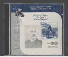 Giovanni Verga LA LUPA / ROSSO MALPELO  il Narratore 2003 Audiolibro CD-Audio