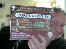 CORONATION STREET ROVERS RETURN AUDIO PUB QUIZ  PERFECT PARTY QUIZ GAME CHARITY