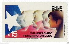Chile 1986 #1206 Voluntariado Femenino MNH