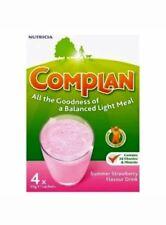 2x Complan Strawberry Nutrition Vitamin Supplement Protein Energy Drink 4x55g